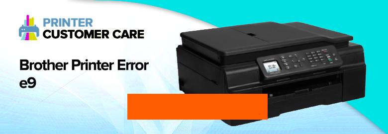 Brother Printer Error e9