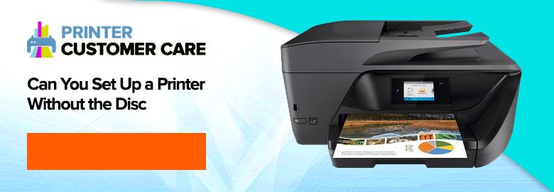 Set Up Printer Without Disc