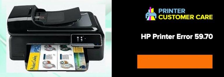 HP Printer Error 59.70