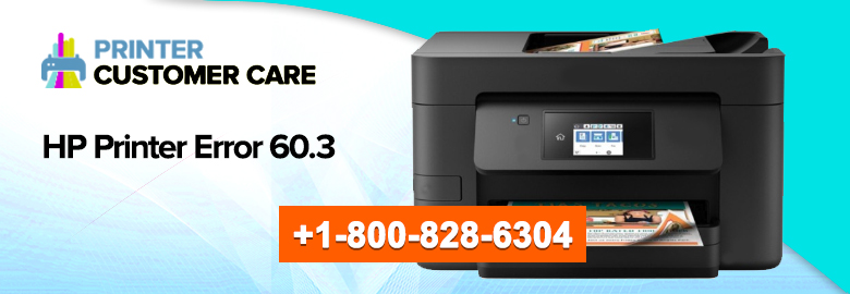 HP Printer Error 60.3
