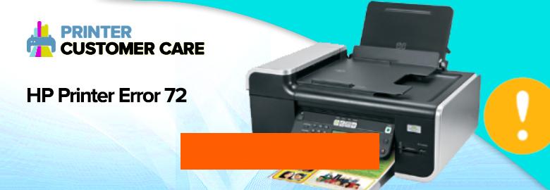HP Printer Error 72