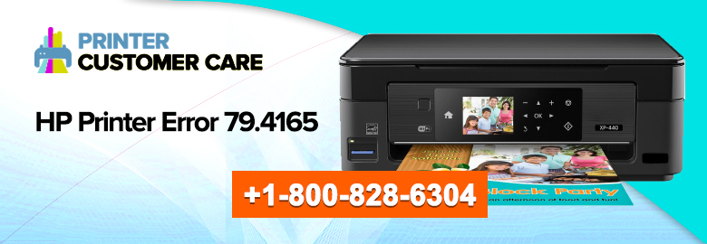 HP Printer Error 79.4165