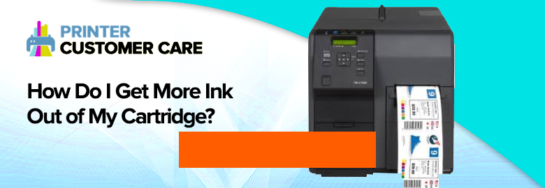 Get More Ink Out of Cartridge