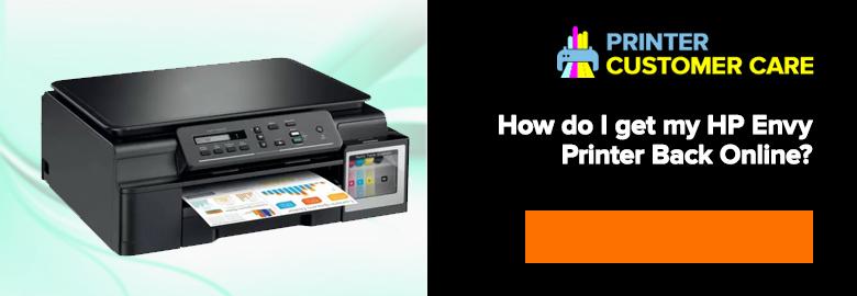 HP Envy Printer Back Online