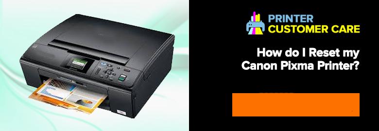 Reset Canon Pixma printer