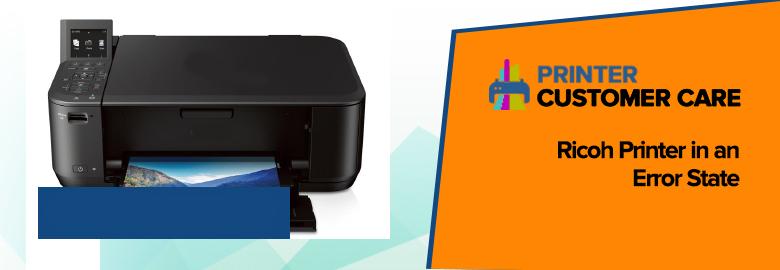 Ricoh Printer Error State