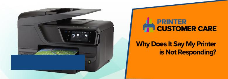 Printer is Not Responding