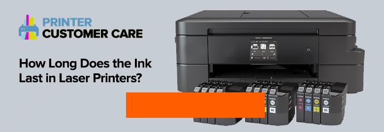 Ink Last in Laser Printers